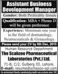 Assistant Business Development Manager Job 22 Nov 2015