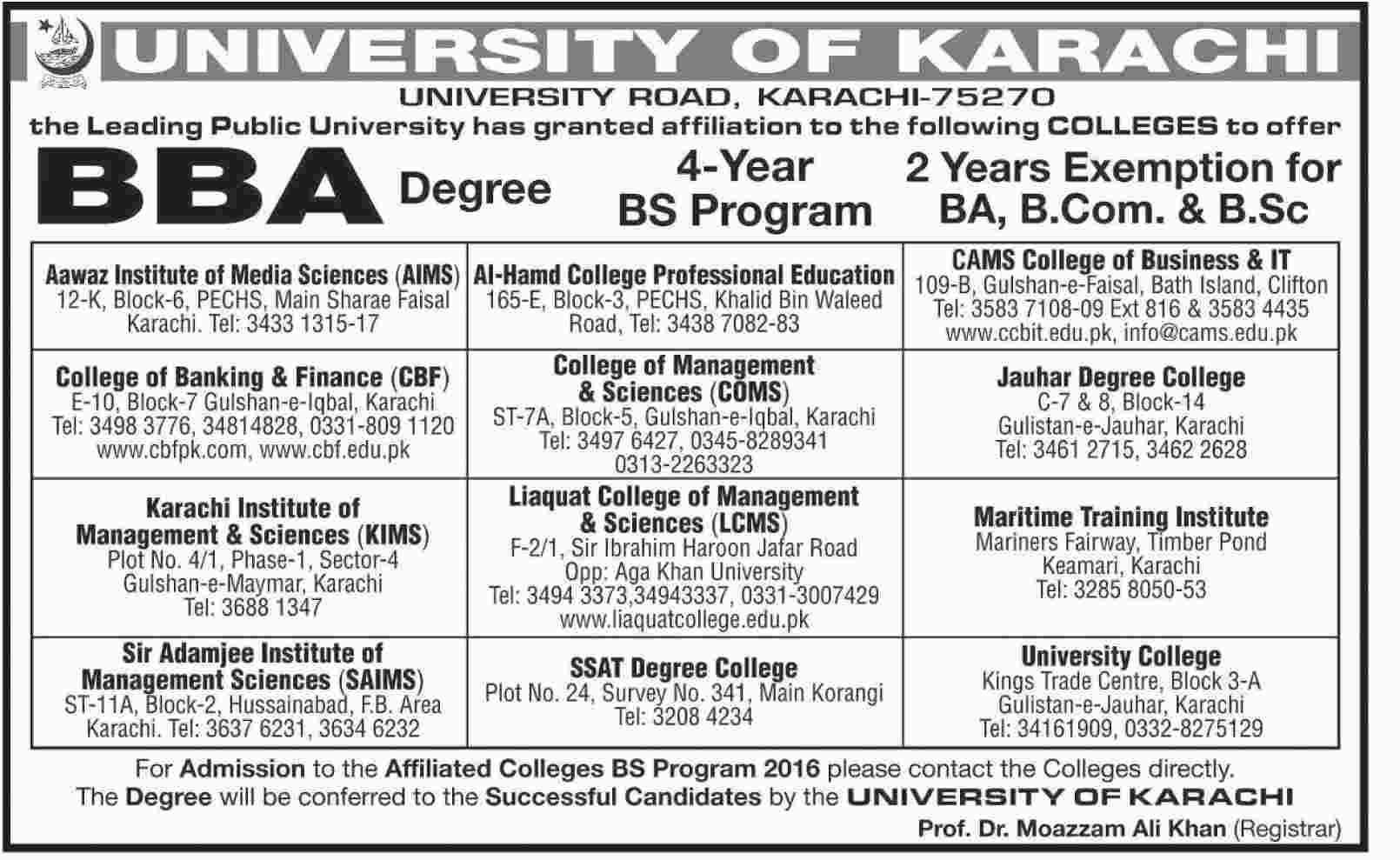 KARACHI: MBBS admissions begin at govt colleges - Newspaper - blogger.com